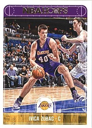 fe815ffd393 Amazon.com: 2017-18 Panini Hoops Basketball #111 Ivica Zubac Lakers ...