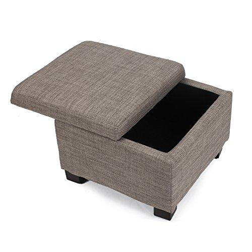 Swell Adeco Fabric Retangular Button Tufted Nailhead Trim Trio Storage Ottoman Bench Fuscous Grey Set Of 3 Alphanode Cool Chair Designs And Ideas Alphanodeonline
