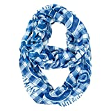 NFL Indianapolis Colts Sheer Infinity Plaid Scarf