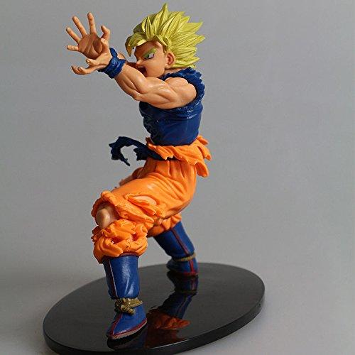 GANSUP Anime Dragon Ball Z DBZ Super Saiyan Son Goku Kamehameha Figure Toy New Gift