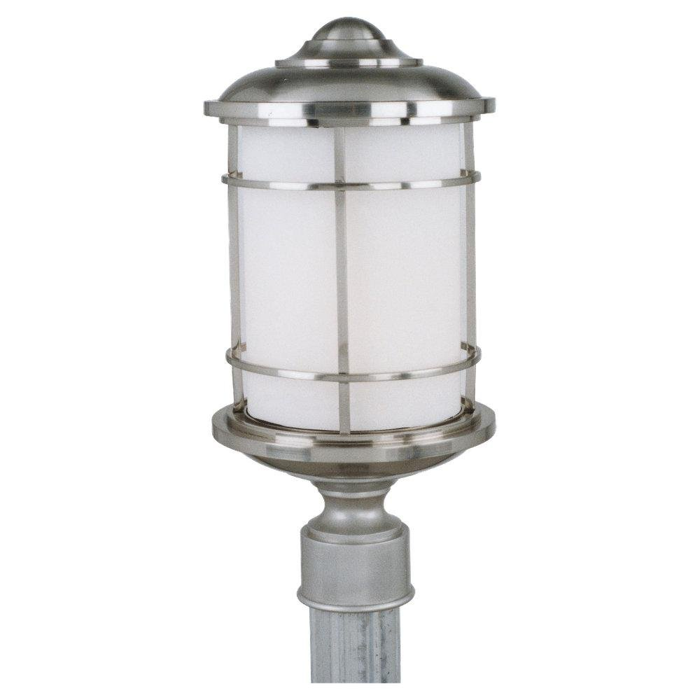 Feiss OL2207BS-LED Lighthouse LED Brushed Steel Outdoor Post Mount