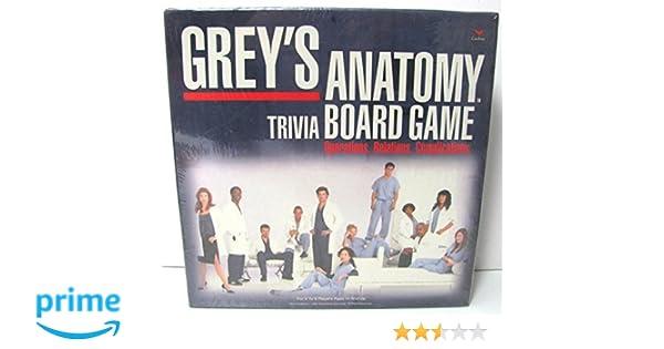 5Star-TD Greys Anatomy Trivia Board Game