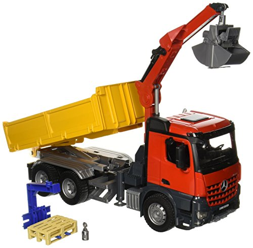 Bruder MB Arocs Construction Truck with Crane and Accessories ()