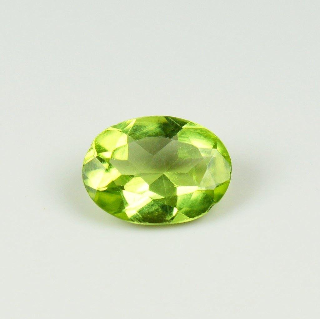 Total 0,95/CT Vert P/éridot Pierre pr/écieuse de forme ovale Courroie 8/x 7/mm 55ba13