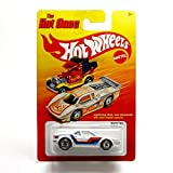 BMW M1 (WHITE) * The Hot Ones * 2011 Release of the 80's Classic Series - 1:64 Scale Throw Back HOT WHEELS Die-Cast Vehicle