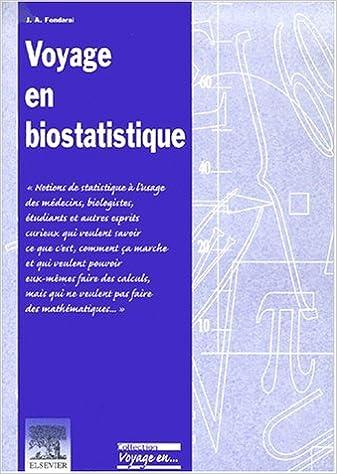 Téléchargement Voyage en biostatistique pdf ebook