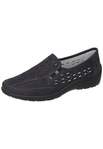 Comfortabel Damen-Slipper Blau 942184-5, Grösse 40