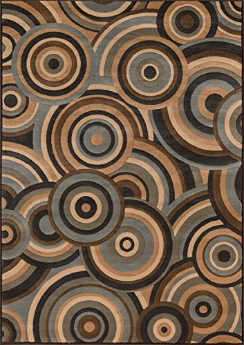 - Momeni Rugs DREAMDR-05BRN7A9A Dream Collection, Contemporary Area Rug, 7'10