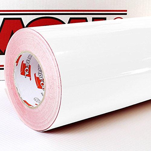 Oracal 621 FOLIEN SET - 010 weiss - Klebefolie - 5m x 63cm - Folie - Moebelfolie - Plotterfolie - Selbstklebend (Folien Set inkl. Rapid Teck® Montage Rakel)