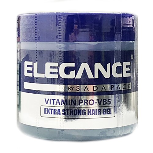 Price comparison product image Elegance Extra Strong Hair Gel, Blue, 8.8 Ounce