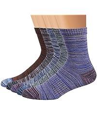 Ofeily Men Socks 5 Pairs Sport Casual Cotton Socks Athletic Crew Socks