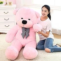 Teddy Bear Stuffed Animals Plush Pillow Giant Teddy Bear Toy Pink 80cm / 32inch