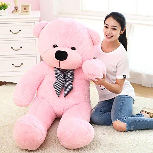 Stuffed Animal Teddy Bear Plush Soft Toy 80CM Huge Soft Toy Pink - 2