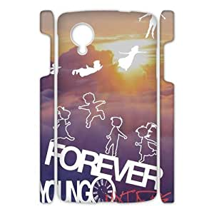 Canting_Good Forever Young sunset Custom Case Cover Shell for Google Nexus 5 3D