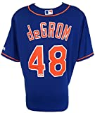 Jacob deGrom Signed New York Mets Majestic Cool Base Baseball Jersey PSA