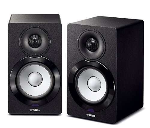 Yamaha NX-N500BL Bookshelf Monitor Speaker System (Black)
