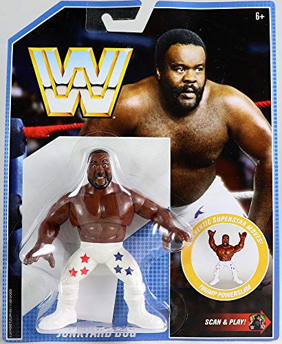(Mattel WWE Junkyard Dog Retro App Action Figure)