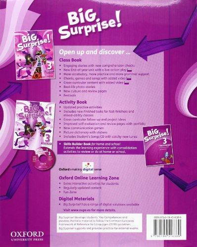 Big Surprise! 3: Class Book - 9780194516389