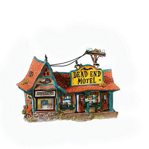 Department 56 Snow Village Dead End Motel