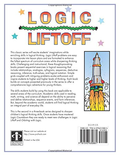 Logic Liftoff, Grades 4-6: Bonnie Risby, Dean Crawford ...