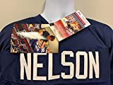 Quenton Nelson Notre Dame Fighting Irish Signed