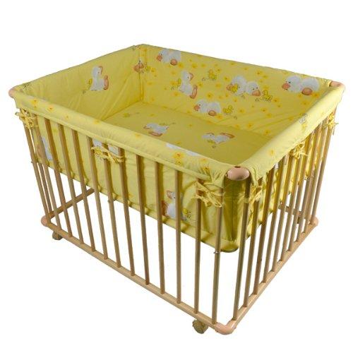 Honey Bee Parque para bebé - Parque de lujo 100x75cm - 53516-01 TIGGO