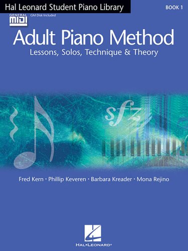 Hal Leonard Student Piano Library Adult Piano Method - Book/GM Disk Pack: Book 1 - GM Disk