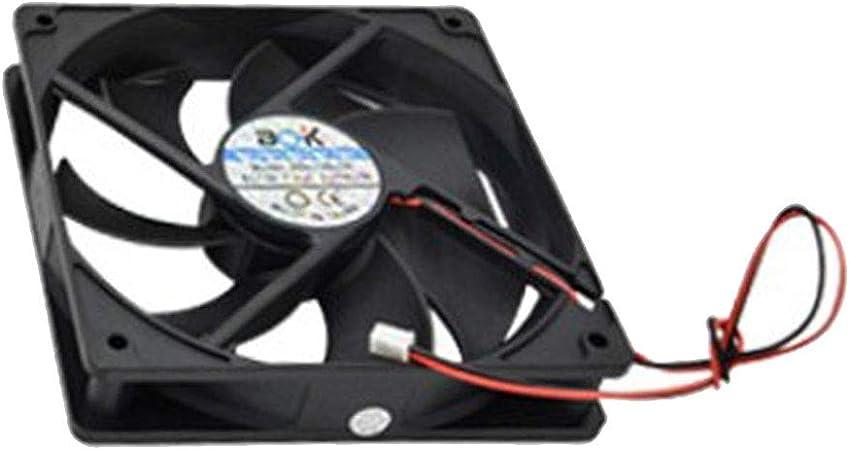 B Baosity Accesorio de Incubadora de Huevo Mini Silencioso Ventilador de Escape de 12V - 96 112 Up, 12x12cm: Amazon.es: Bricolaje y herramientas