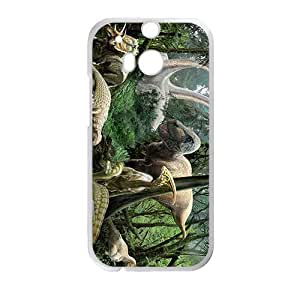 Forest Creative Creative Dinosaurs Custom Protective Hard Phone Cae For HTC One M8