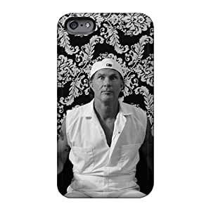 Scratch Resistant Hard Phone Case For Iphone 6 (BEF18644tHCK) Provide Private Custom High-definition Red Hot Chili Peppers Pattern