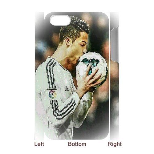 3D de Cristiano Ronaldo besándose de balón de fútbol de dibujo de ...