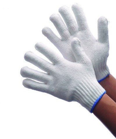 Knit White Bleached (Bleached White String Knit Gloves Large Case Pack 300 , Automotive, tool & industrial , Office maintenance, janitorial & lunchroom , Gloves , Fabric)