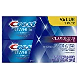 Beauty : Crest Twin Pack 3D White Luxe Glamorous White Toothpaste, 3.5 Ounce each, 2 Pack