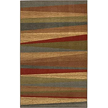 Mohawk Home New Wave Mayan Sunset Printed Rug,2'6x3'10,Sierra