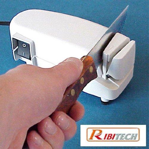 Affilacoltelli elettrico 40 watt affila coltelli e forbici accessori cucina Ribitech