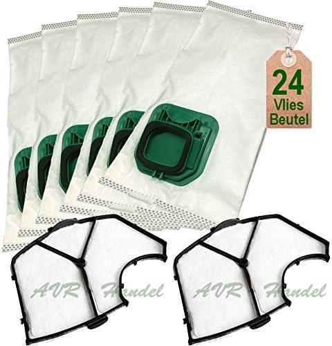 24 bolsas de aspiradora bolsas y filtro para Vorwerk Kobold VK 140 ...