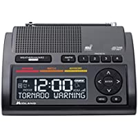 Midland Consumer Radio Weather Radio All Hazard Radio Gray (WR400)
