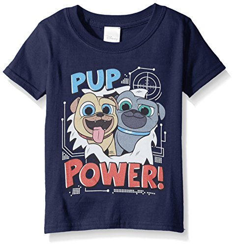 Disney Toddler Puppy Dog Pals Short Sleeve T-Shirt, Navy, 2T