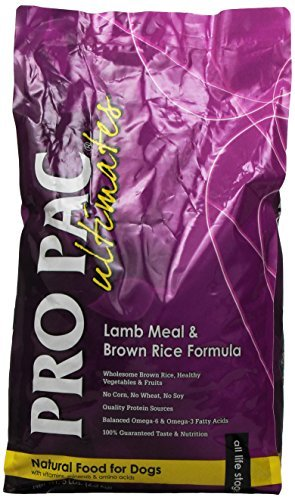 (Midwestern Pet Foods PRO PAC Ultimates Lamb Meal and Brown Rice Natural Formula Dry Dog Food, 5-Pound Bag by Midwestern)