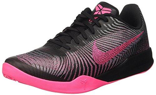 - NIKE Men's Kb Mentality II Basketball Shoe (45-29cm - UK 10 - US 11, Black Pink)