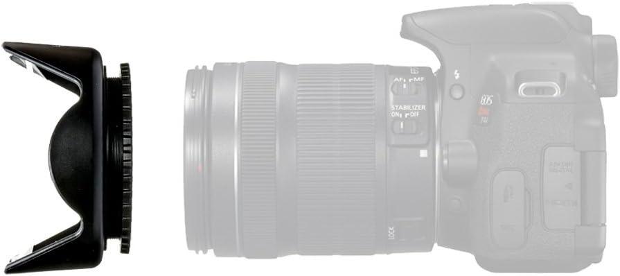 Lens Cap Holder LGG408 Cleaning Wipes LS Photography EW-73B Lens Hood Camera Accessory