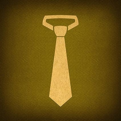 Amazon Com Vintage Mens Business Tie Print For Wall Art