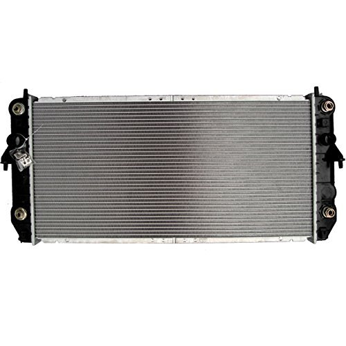 ECCPP New Aluminum Radiator 2620 fits for 2001-2005 Cadillac DeVille DTS V8 4.6L with warranty (New Radiator Cadillac Deville)