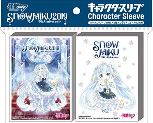 SNOW MIKU 2019 Character Sleeve SNOW MIKU 2019 (A) (EN-E001) Pack by ensky (Image #3)