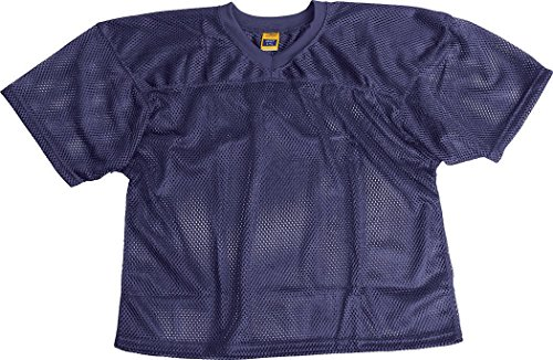 Martin Sports ProMark Football/Lacrosse Youth Waist Length, Polyester Mesh Practice Jersey (Youth Waist Length Football Jersey)