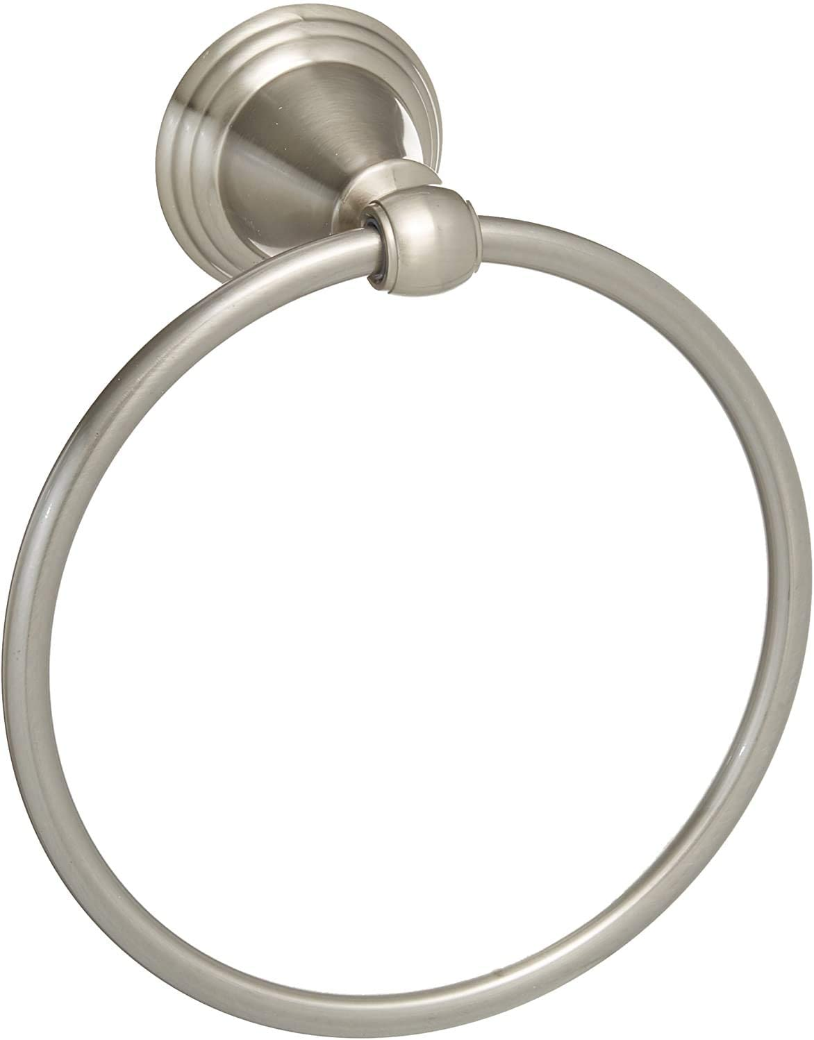 Delta Faucet 79646-BN Windemere Towel Ring, Satin Nickel - Delta Windemere Brushed Nickel -