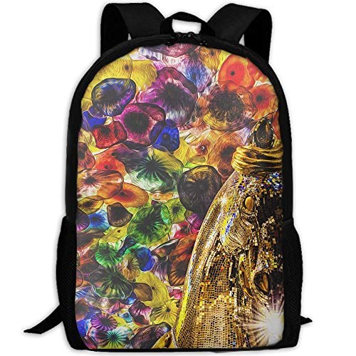 Phyllis Walker Backpack Carnival Niagara Print Fashion College Double Shoulder Bag Travel Outdoor Camping Crossbody Bags for Men Women -