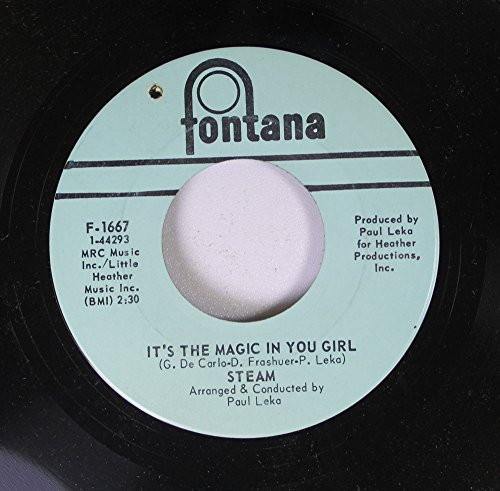 (Steam 45 RPM It's The Magic In You Girl / Na Na Hey Hey Kiss Him Goodbye)