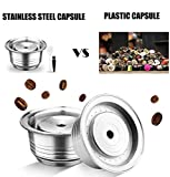 Reusable Coffee Capsule Filter, Stainless Steel