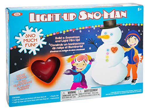 Ideal Sno Toys Light Up Sno-Man (Buddy Snow)